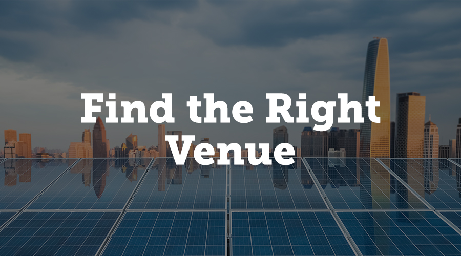 If you want to communicate your Earth-friendly message to exhibitors or attendees, it's vital to find a venue that mirrors these values. In most cases, newer buildings are often constructed with energy-efficiency and sustainability in mind, as they typically use low-energy lighting and environmentally-friendly heating systems to reduce their carbon footprint - but be sure to check this before committing.