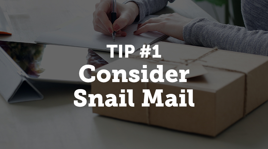 One of the first rules of writing any kind of thank you letter or a note is that, if given a choice, you should always write a physical copy and send it via snail mail. There are plenty of reasons why pen, paper, and stamp are still the golden standard of expressing thankfulness. The same reasons will also work on increasing the participants' loyalty.