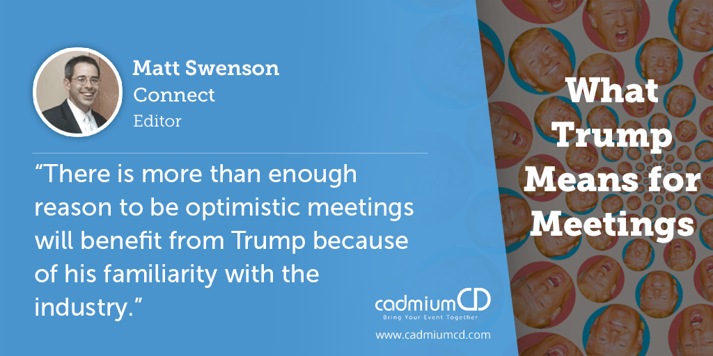 Matt Swenson looks at possible impacts President Trump could have on four different aspects of the industry.