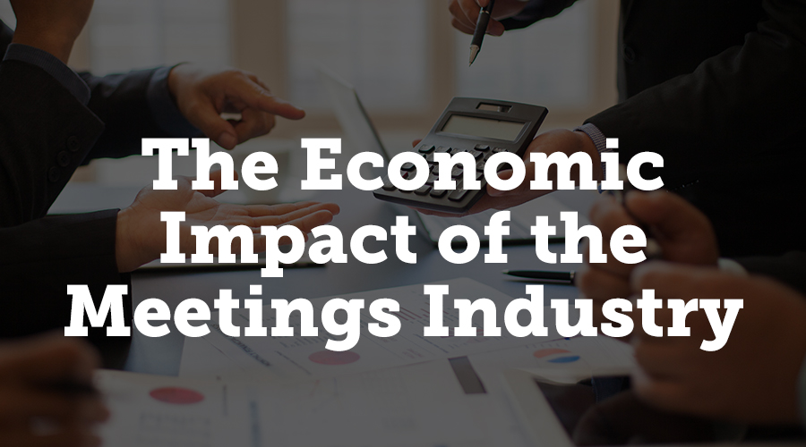 """The events industry is a huge jobs creator and has an enormous impact on the U.S. economy. David McMillan sums up """"The Economic Significance of Meetings to the U.S. Economy,"""" an updated report from Oxford Economics, the Events Industry Council, and the Meetings Mean Business Coalition, looking at how events have contributed to the United States economy."""