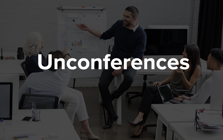 Essentially an unconference is a conference which has no structure or assigned topics but is more constructive conversations facilitated by industry professionals.