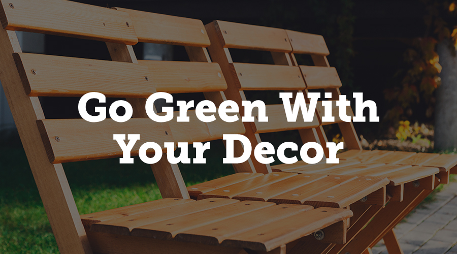 There are numerous ways you can dress your venue to impress without having to compromise on your eco credentials. From using decor made from recyclable materials to renting exhibition furniture and tableware rather than buying new, planet-friendly decor choices will help to reduce waste and environmental impact - bringing you closer to achieving a successful Earth-loving event.