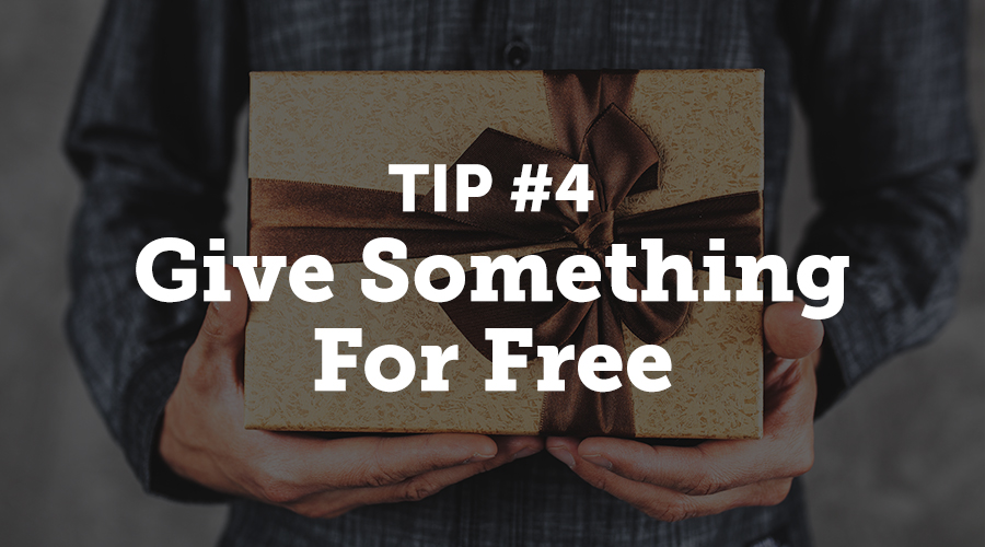 So if you can't sell in a thank you letter, why not try to give something away for free? Adding a coupon code or providing some information about a loyalty program is a sure way to boost loyalty, and it won't look half bad when included in a post-event thank you note.