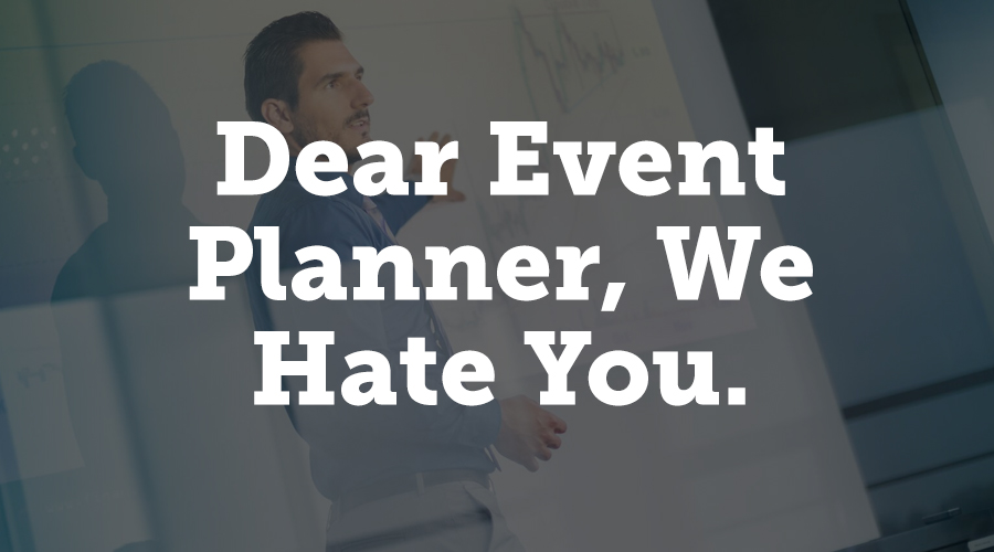 Behind a provocative title, this article by Julius Solaris looks at the things that event planners really need to do (or not do) to keep their speakers happy. Solaris has been on both sides of the fence, as a planner and as a speaker, so he has a unique perspective on the subject. His advice includes giving in-depth feedback after sessions, not being overly specific with social media task requirements, and doing your research on the speaker before asking them to speak at your event.