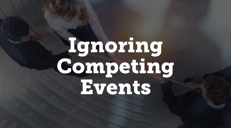 Ignoring Competing Events