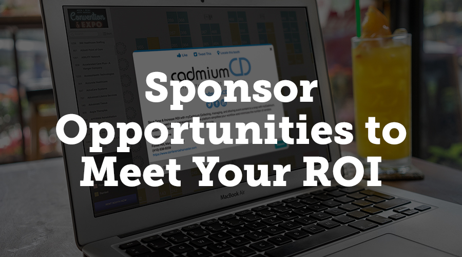 Selling sponsorships boosts revenue for your event, so we have several ways for you to highlight sponsors and give them extra exposure on your expo website and mobile app. Since you can expect most of your attendees to use the exhibit hall floor plan either on your website or app, it's a great place to draw attention to sponsors. You can set a special color that highlights just the sponsor booths on your floor plan, and when a user hovers over that booth, the company's logo pops up. Another option would be to only display logos on sponsor booths instead of on all booths, so that users will notice the sponsors at a single glance.