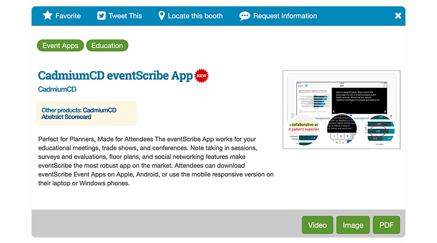 Expo Harvester Product Showcase Screenshot