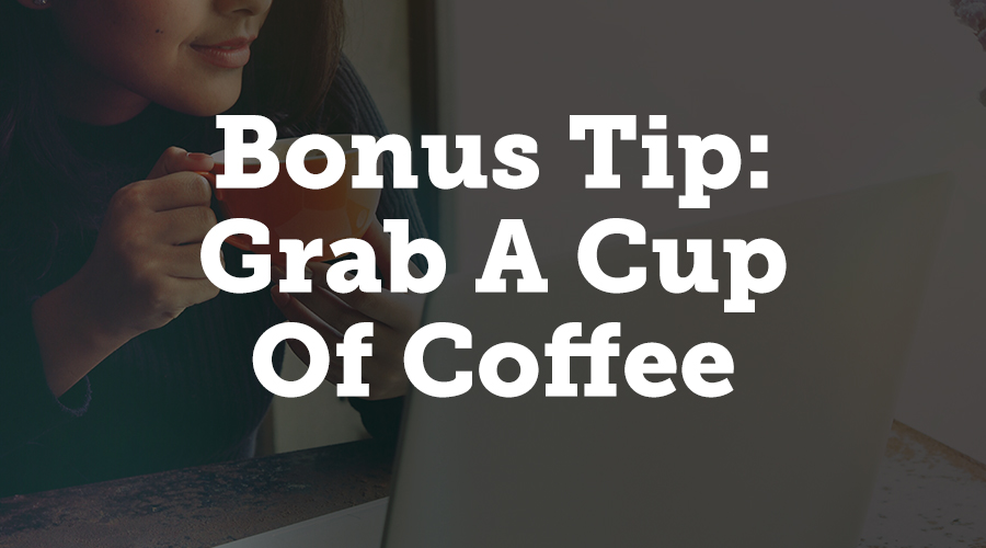 Coffee may not be to everyone's taste. However, you cannot ignore its healthy perks! If you've been busy and sleepless a week before the event, a cup of coffee can keep you energized and awake.