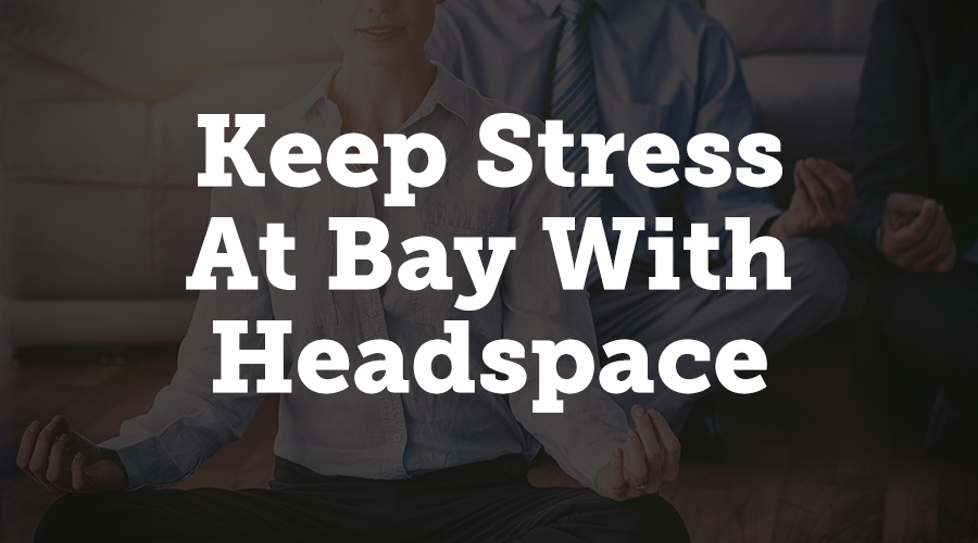 Headspace is a guided meditation app that's built for people who haven't meditated before. The initial sessions are only 10 minutes long, so making the time to meditate with Headspace is very doable.
