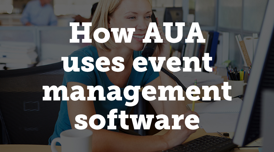 """""""Before using the Conference Harvester,"""" Davis says, """" AUA stored their data in a spreadsheet housed on individual computers. When they made a change, they had to share that change with everyone by sending the file. With Harvester Worksheets, AUA now has one central location for all their information. They can give team members access to the data and disseminate it to multiple teams. Everyone now has access to the most updated information in real-time."""""""