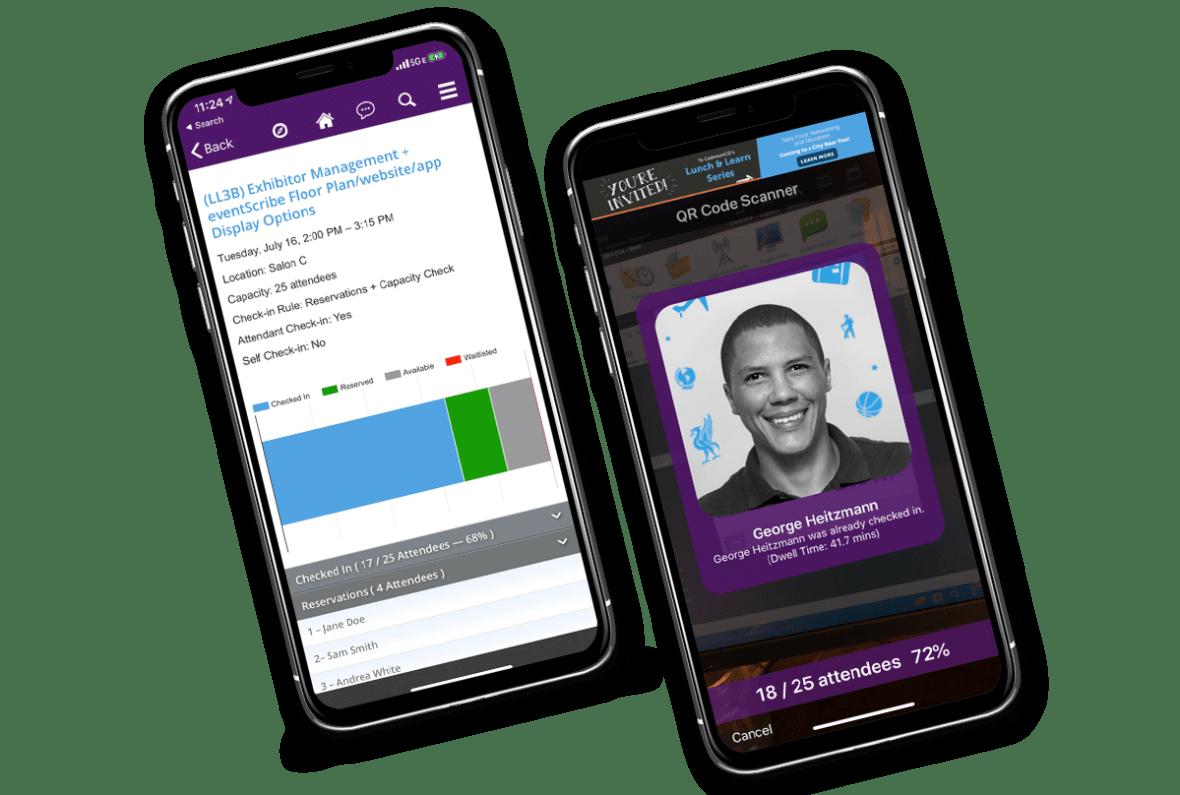 eventScribe Mobile Event App Screenshot