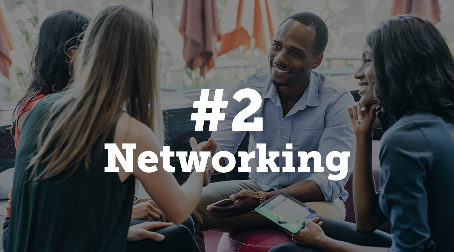 Networking options for attendees are important for meeting planners to consider