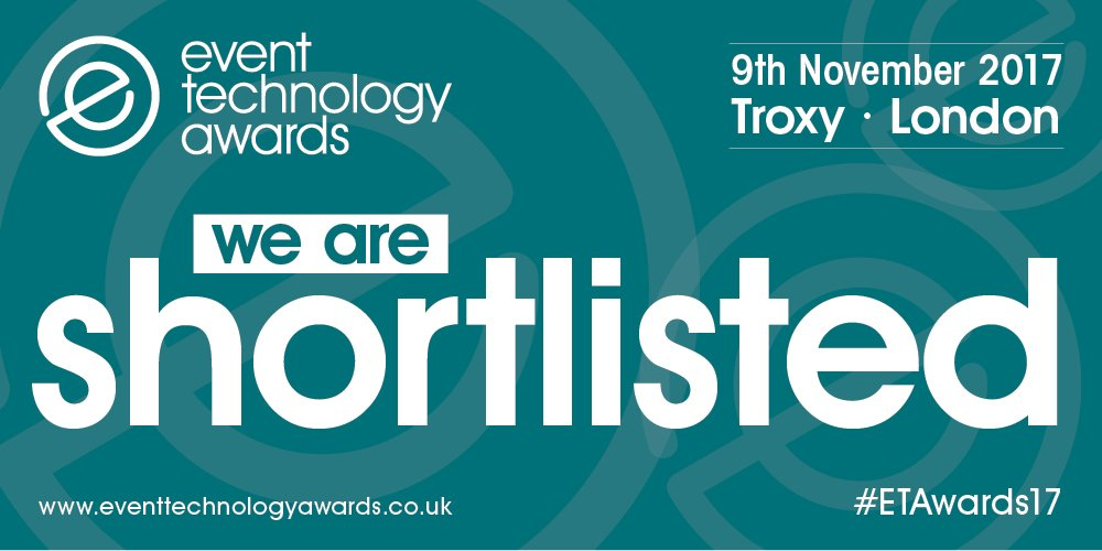 CadmiumCD shortlisted for Event Technology Awards 2017