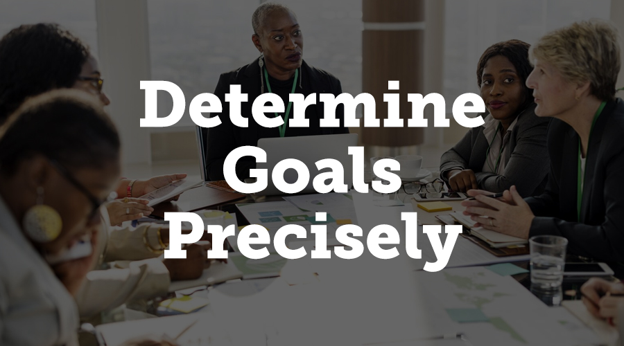"""Planning is the basic precondition for a successful event. Chuck Cohn, contributor of Forbes, says: """"Setting concrete goals, documenting them, and reviewing them periodically can increase your chances of success byup to 95%."""""""