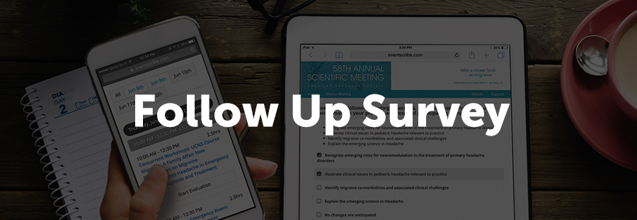 The final piece to successful benchmarking is to follow up after the event to determine retention. AUA uses a survey tool, similar to the Survey Magnet, to reach out after the conference. They use this to determine where attendees' knowledge ends up in the long run.