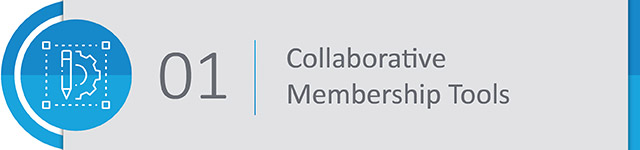 Enabling your members to collaborate online based on common interests can help you plan events that cater to the interests of particular (or multiple!) groups of members. This is especially helpful if you are a professional organization looking to create networking opportunities for members of your association.