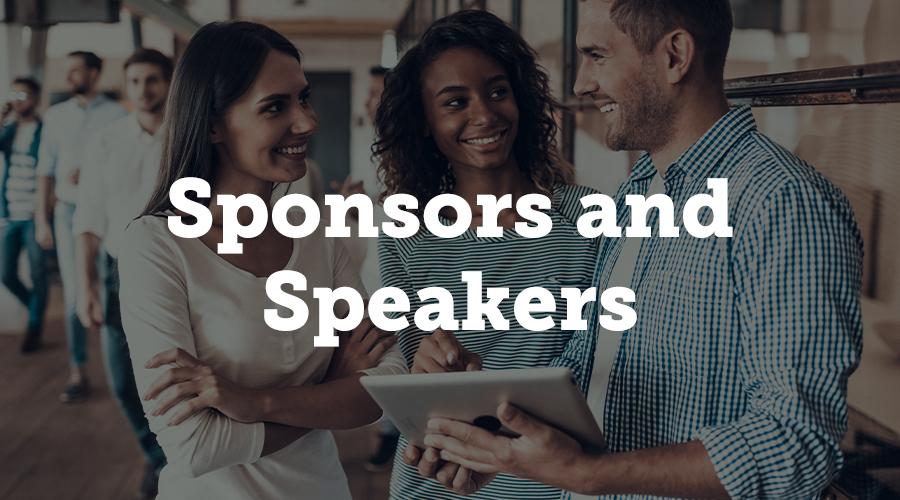 Sponsors and Speakers