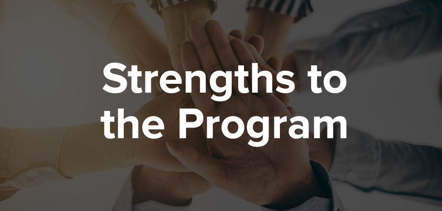 Strengths to the IOM program for association professionals.