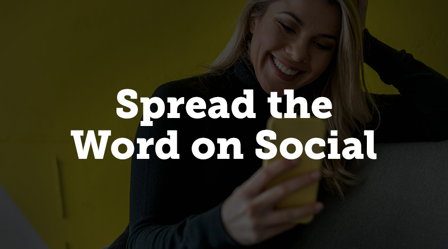 Don't make the mistake of leaving social media as an afterthought. Social media is the best way to spread the word before, during, and after your event. Share the love on your Twitter, Instagram, Facebook, Snapchat, etc. with the appropriate audiences and a consistent campaign hashtag. Tagging the speakers in your post will also help get some outside visibility from their followers.