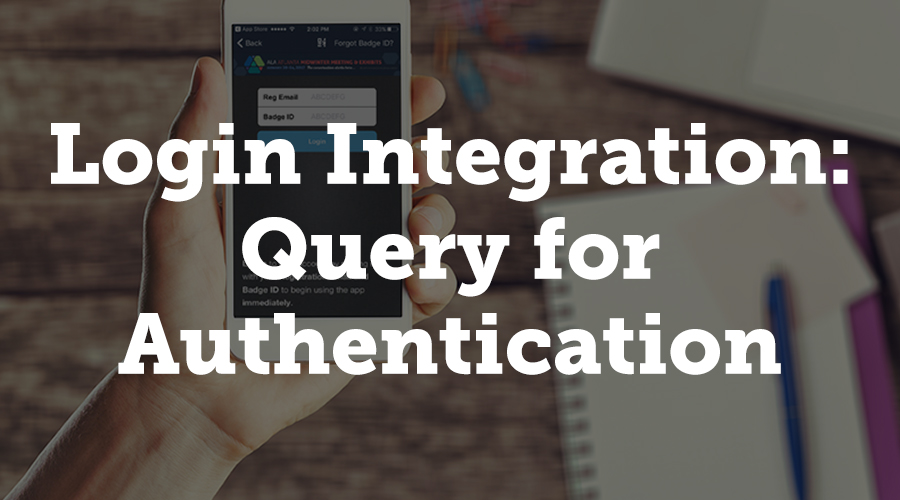 This type of integration allows users to enter their membership credentials into a form on our product.