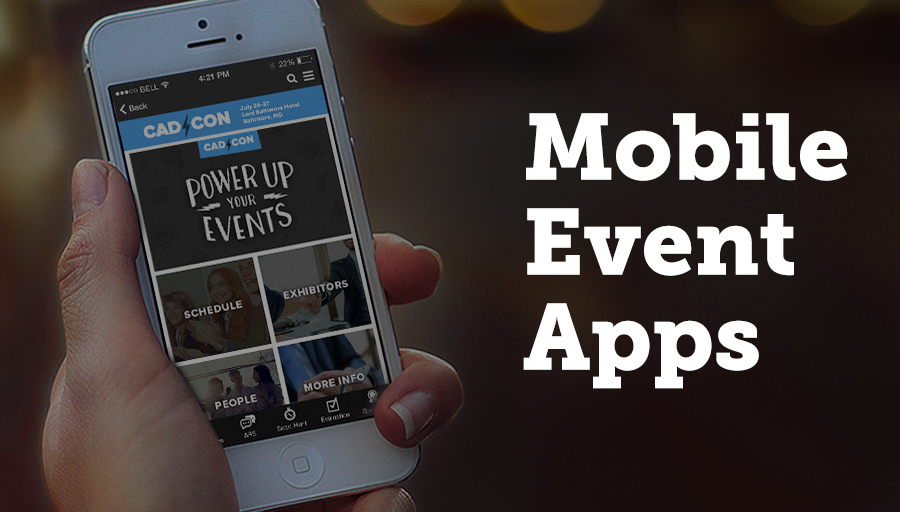 As of 2015, 85% of event planners and organizers were using mobile apps to both organize and run their events.