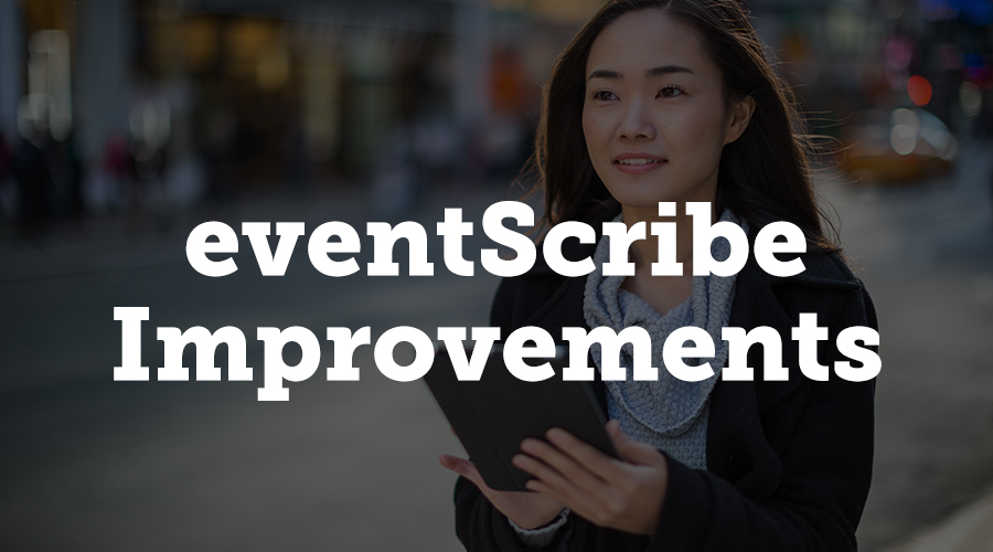 For many clients, the eventScribe mobile app is one of the most important attendee-facing pieces of their event's technology. We've made some really exciting improvements to the app, both front-facing and behind the scenes.
