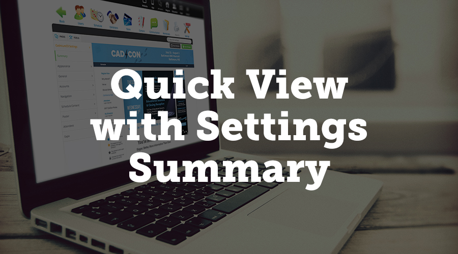 We've added a summary tab when you first open the Settings menu in your website module. This summary gives you a visual preview of what your website looks like, so you can see a snapshot of your website without having to open another browser tab.