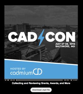 Distribute your conference content via audio