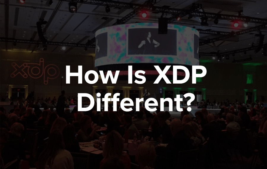 How is ASAE's XDP different than a regular conference or trade show?