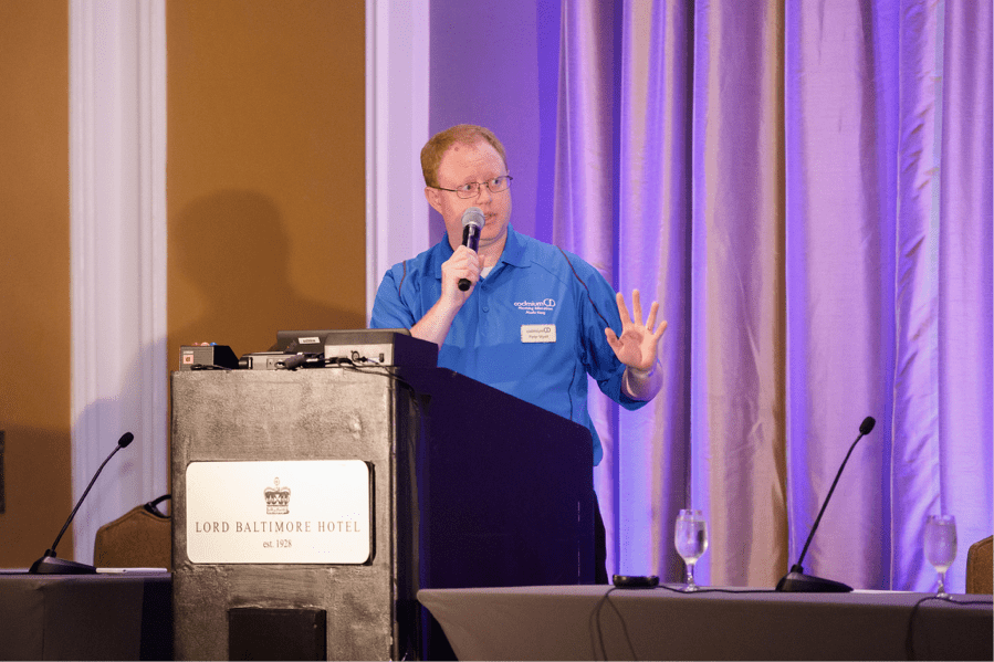 CadmiumCD CTO Peter Wyatt shares details of the new automatic processing tool at CadCon, the company's annual users group meeting.