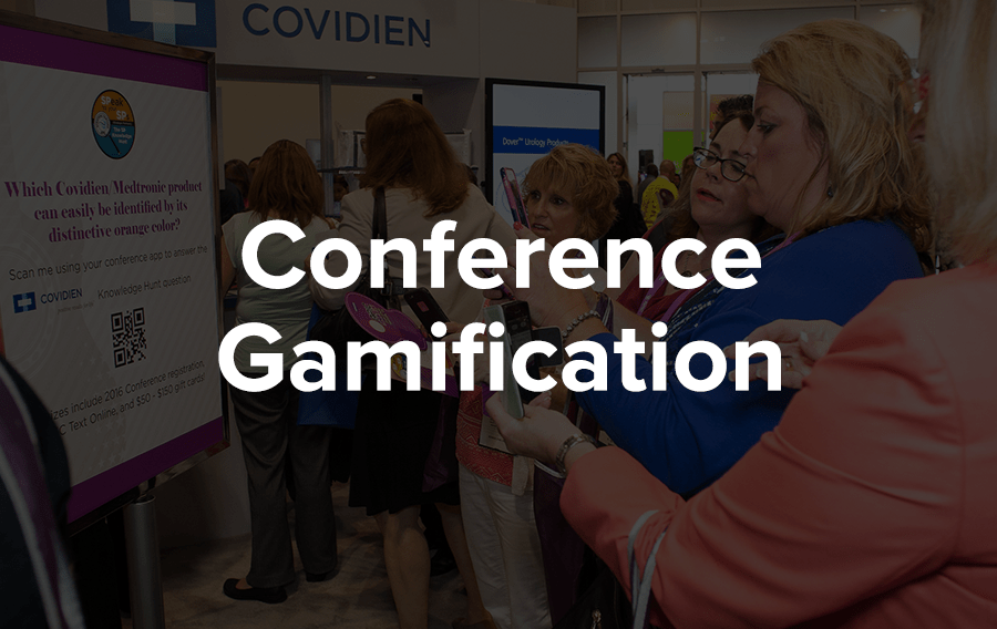 If you can take your event and turn it into a game - a fun one, mind you - you'll be downright golden.