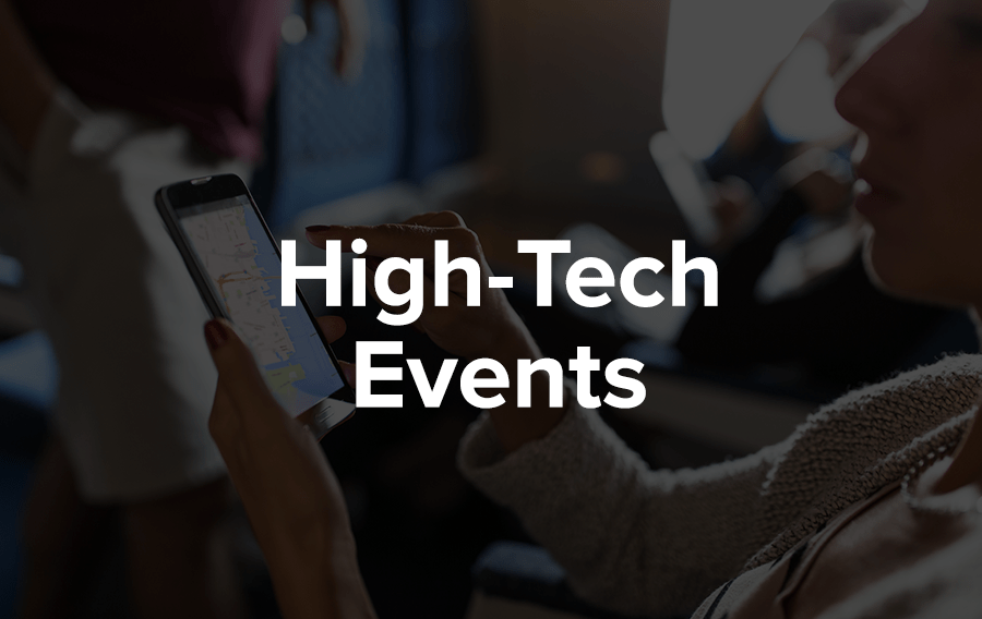 More and more providers of brand management services are focusing on using technology to keep attendees connected and give them an unforgettable experience.