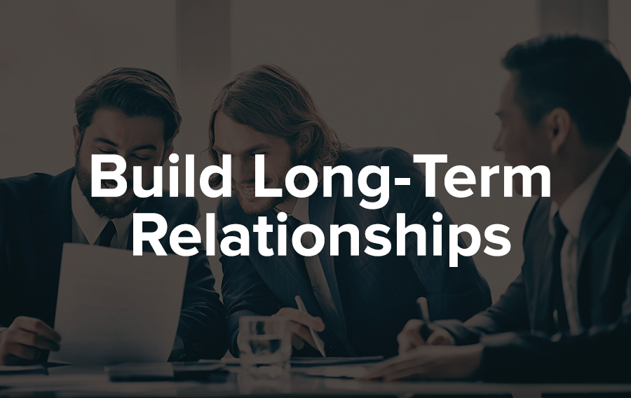 Stay in touch with your sponsor and build a relationship where the two of you become established partners rather than two entities merely fulfilling a contractual obligation.