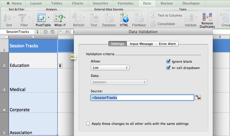 Creating dropdown lists in Excel is very useful when you have a lot of similar data you need to enter over and over. Here's how to do it.