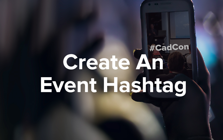 Someone holds up an iPhone and snaps a picture of the event. They type in a hashtag and send off the image to Twitter, Instagram, and Pinterest.