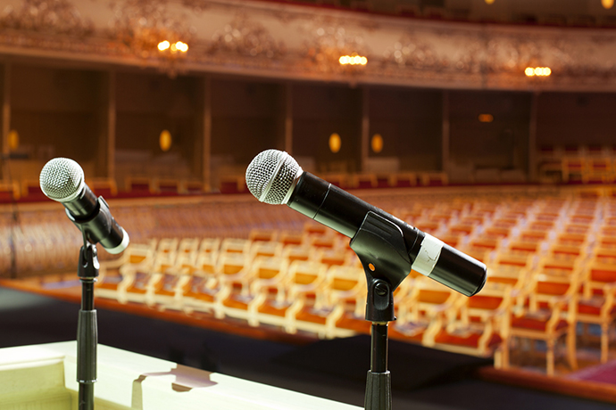 Record your conference sessions so that your attendees can get the most out of your content. CadmiumCD's eventScribe conference software and event technology makes this easy. We'll even come out and record audio and video of your meeting!