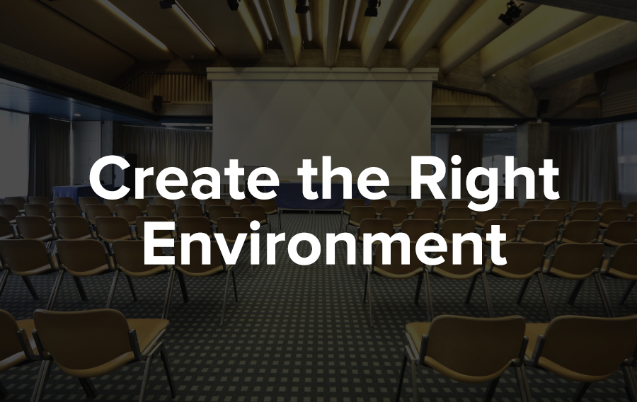 Create the right environment for learning at your events to maximize customer engagement.