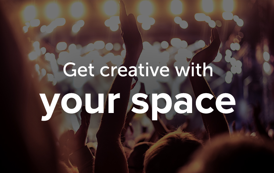 Katie Herritage, author of Special Events for Less and former Global Events Manager for Amazon Web Services, says getting creative with your space could help you save money for your upcoming association parties!