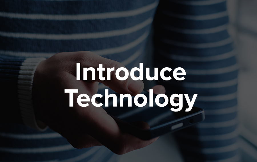 Introduce technology at your events to maximize customer engagement.