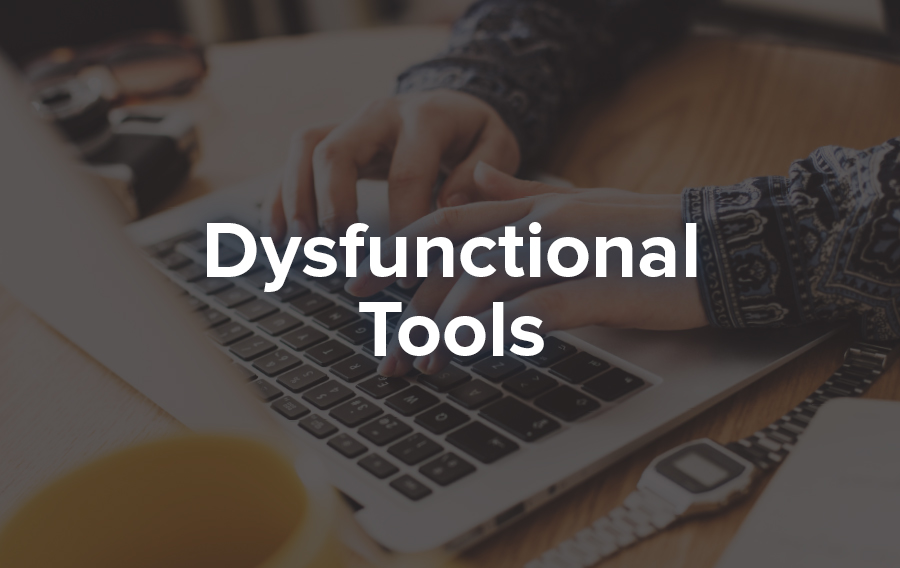 Email and spreadsheets are dysfunctional tools for meeting planning because they are not dynamic.
