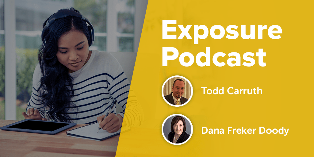 Hosted by the Expo Group's Dana Freker Doody and Todd Carruth, the Exposure Podcast is a great look at current event industry news from a trade show perspective.