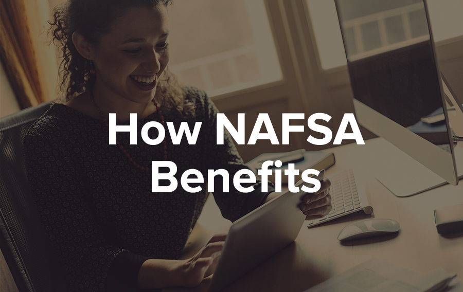 How did NAFSA benefit from the CadmiumCD/IMIS integration?