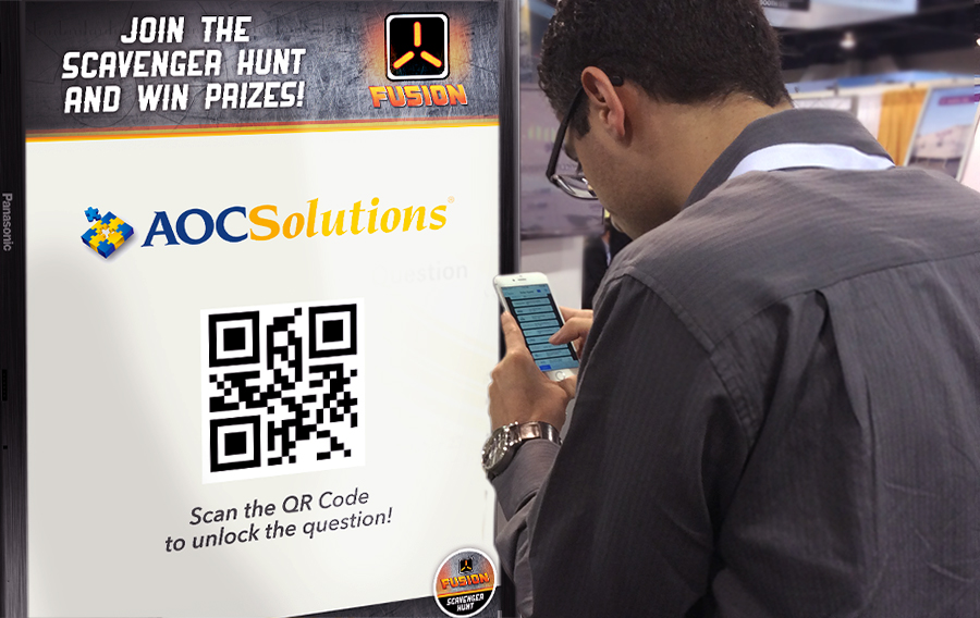 Great engagement often means success for live events. IFO's gamification scavenger hunt app made this a reality.
